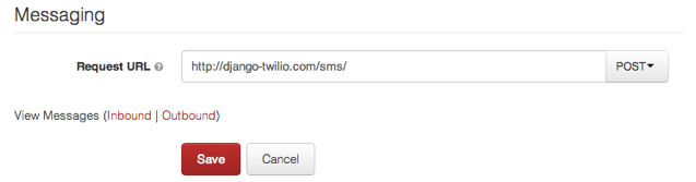 Building a Simple SMS Message Application with Twilio and Django