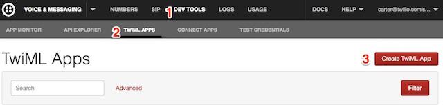 Twilio_User_-_Account_Apps