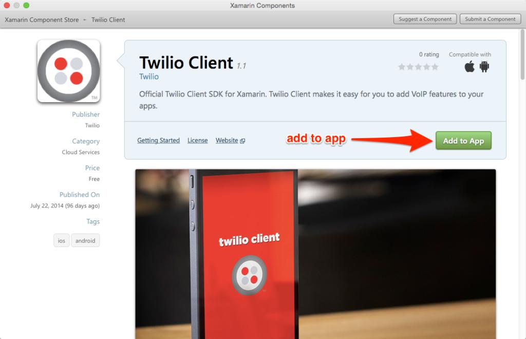 Twilio Client for Xamarin – Part 2: iOS - Twilio