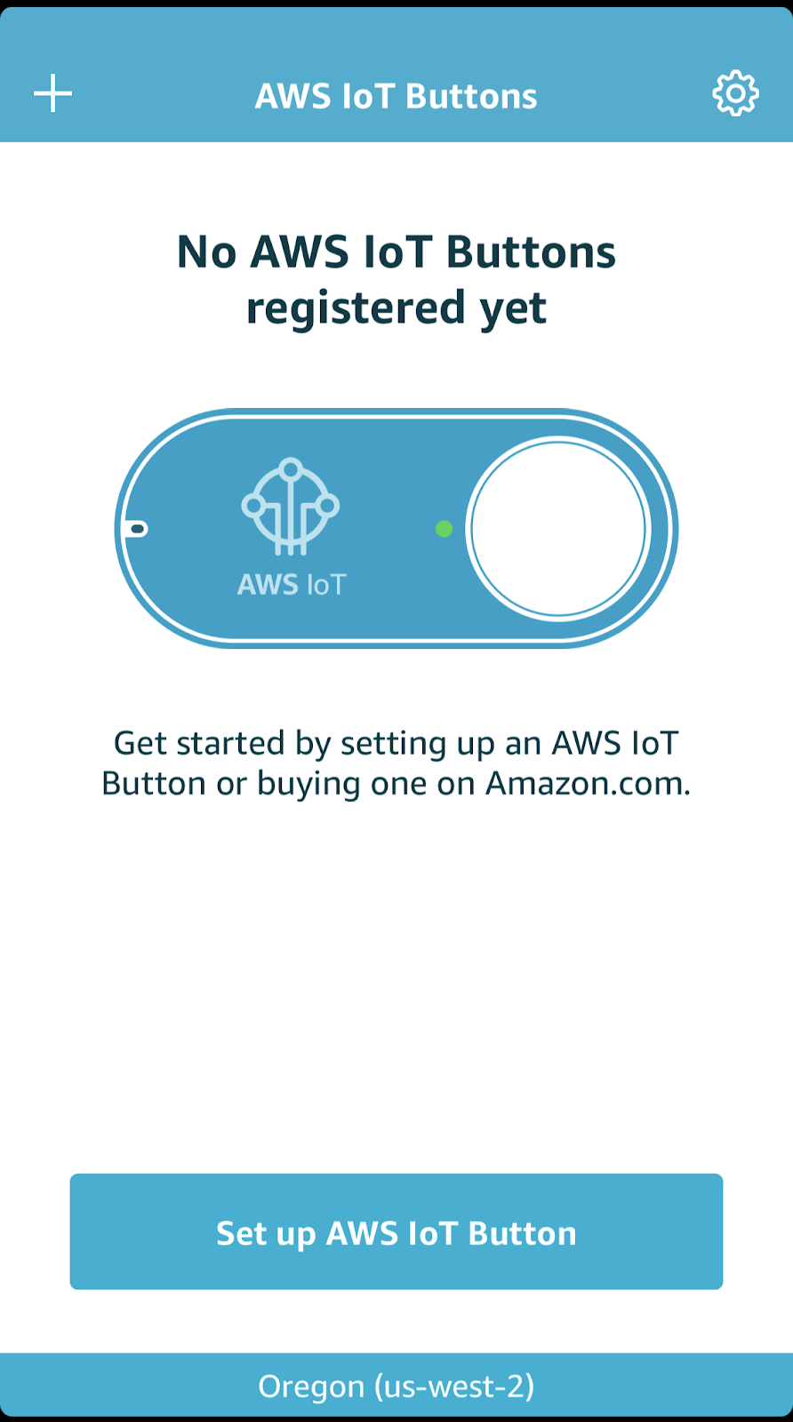 iOS Native App to register IoT Button