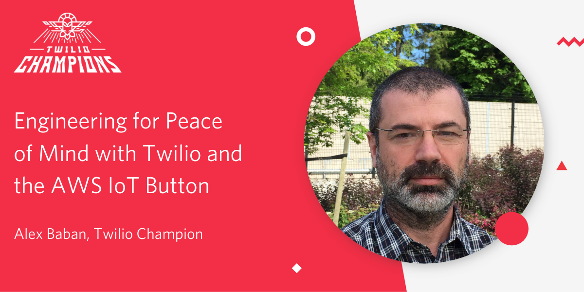 Engineering for Peace of Mind with Twilio SMS and the AWS