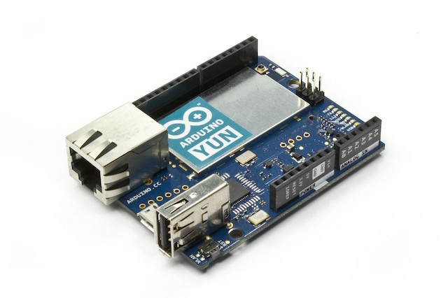Getting started with the arduino yun