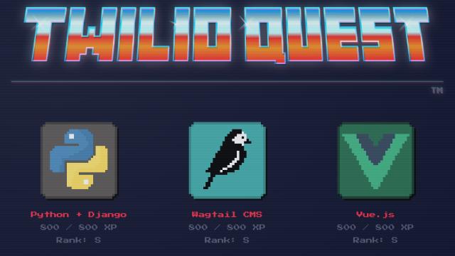 Building TwilioQuest with Twilio Sync, Django, and Vue js - Twilio