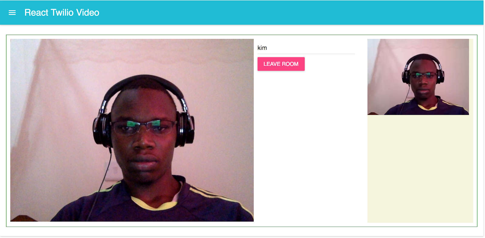Building a Video Chat App with Twilio Programmable Video and React