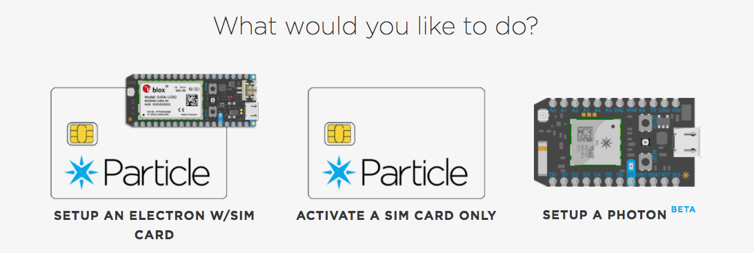 Registering your Particle Electron after SIGNAL