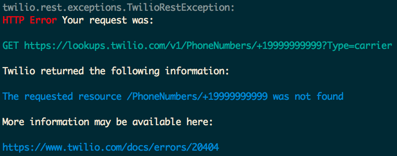 How to Verify Phone numbers in Python with the Twilio Lookup API
