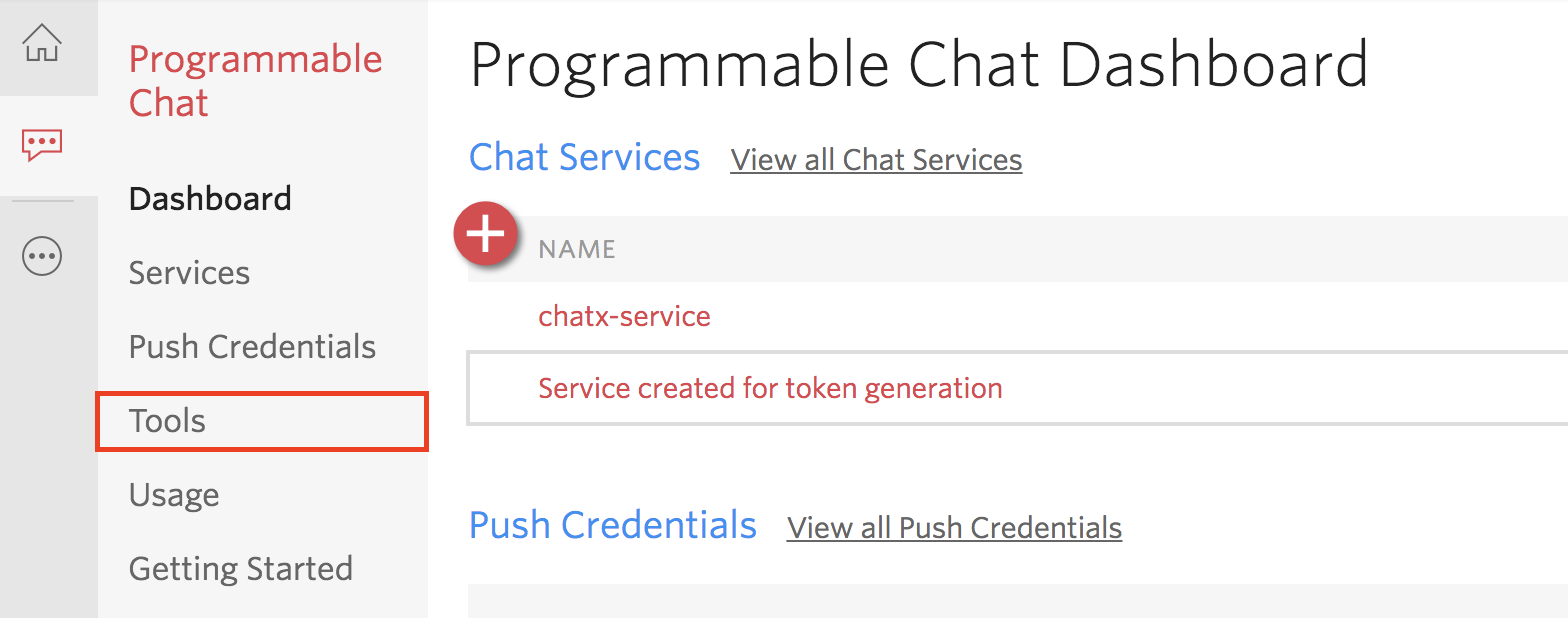 Programmable Chat Dashboard