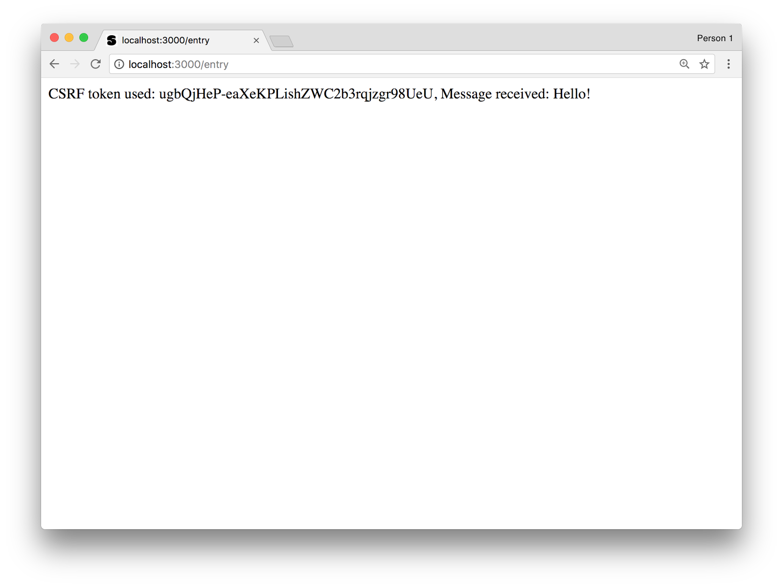 Going surfing – Protect your Node js app from Cross-Site Request