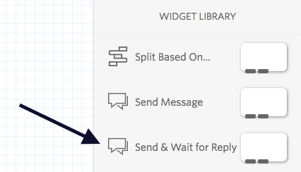 send & wait for reply widget in twilio studio