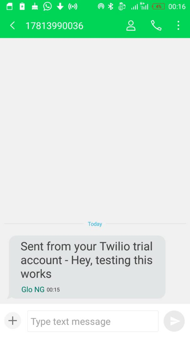 how to use twilio api to send sms in php