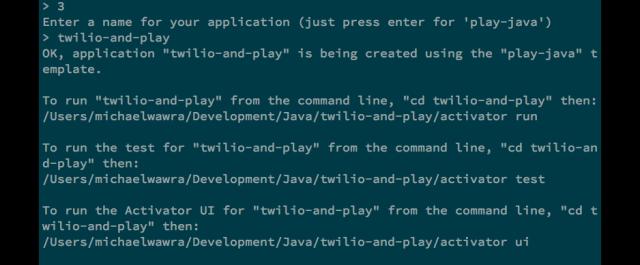 Getting Started With Twilio and Java Play Framework - Twilio