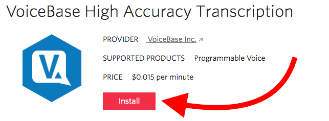 voicebase-add-on-instal