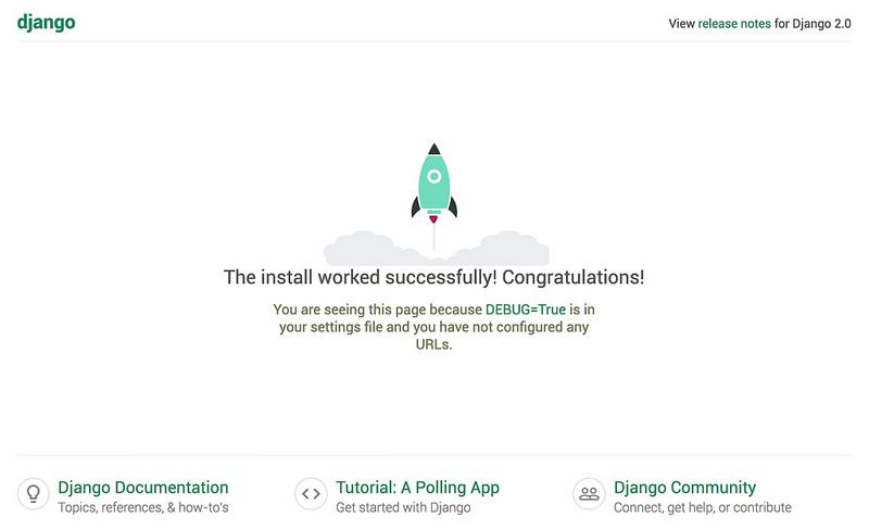 Django success screen