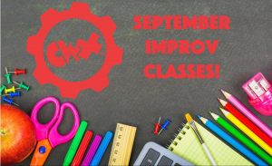 September Improv Classes!