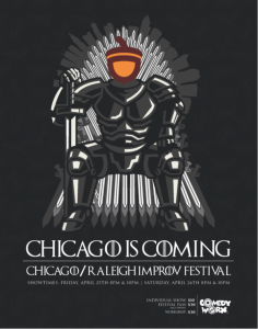 The 2019 Chicago/Raleigh Improv Festival!