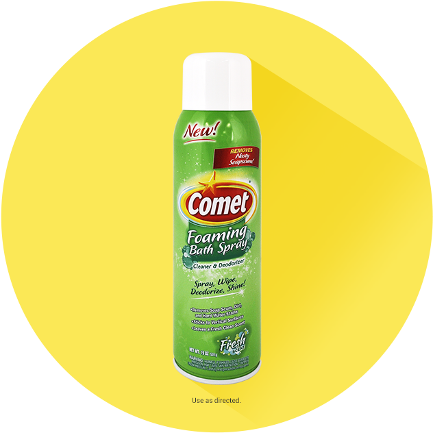 Comet Bathroom Cleaner Spray With Disinfectant