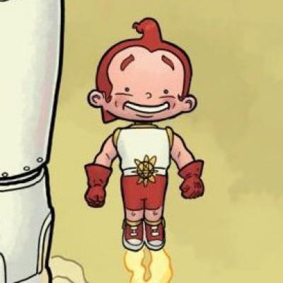 Rusty the Boy Robot