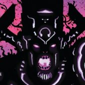 Black Galactus the Butcher of Worlds