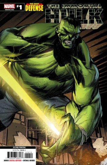 The Immortal Hulk: The Best Defense #1