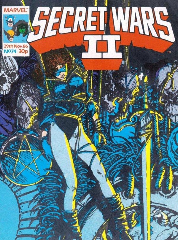 Marvel Super Heroes Secret Wars #74