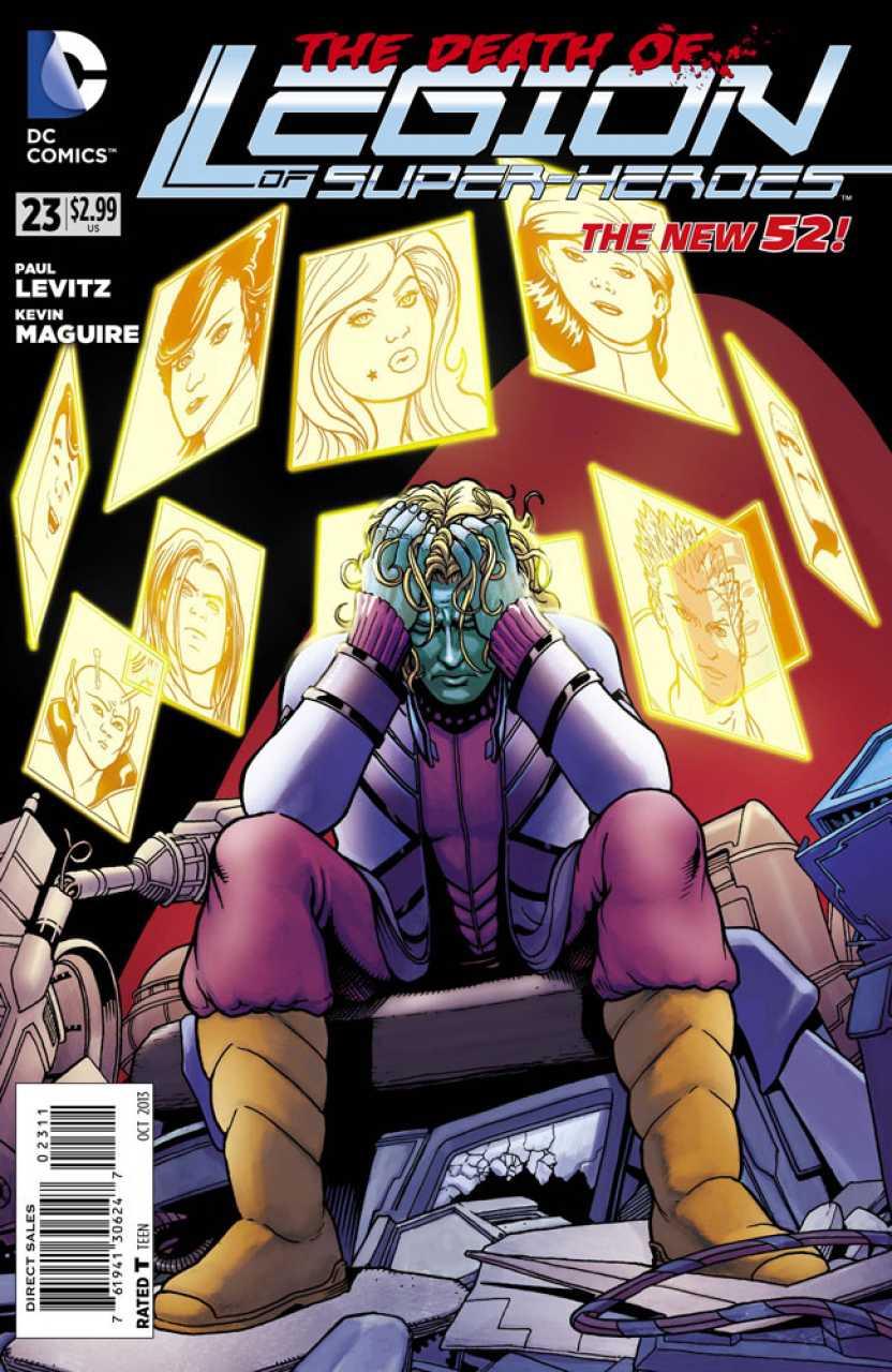 Legion of Super-Heroes #23