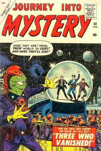 Journey into Mystery #50