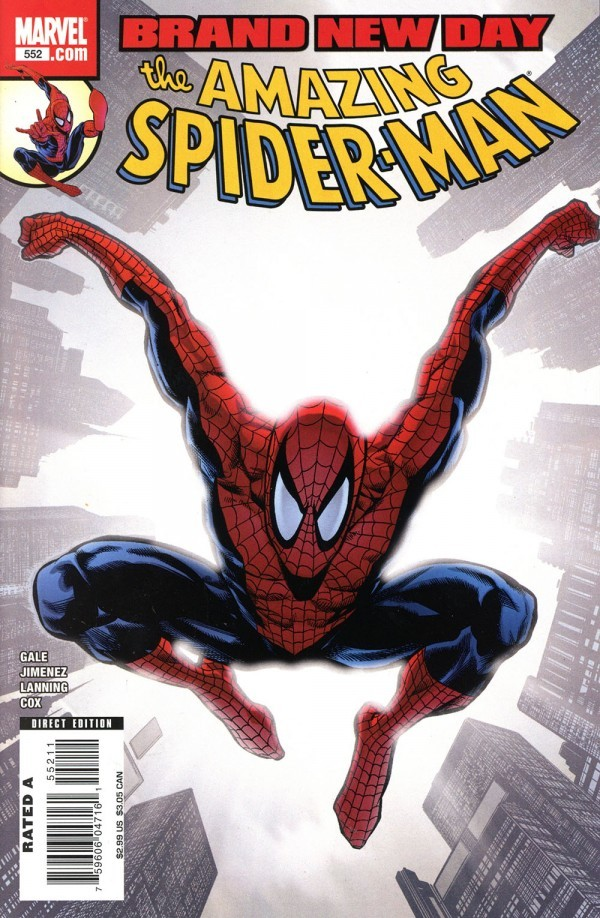 The Amazing Spider-Man #552