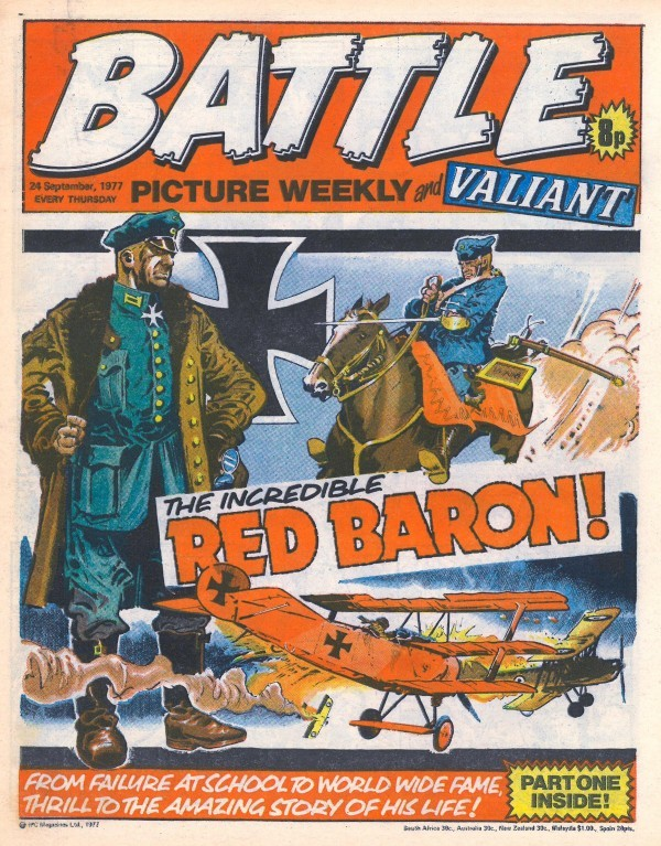Battle Picture Weekly #134 (September 24th, 1977)