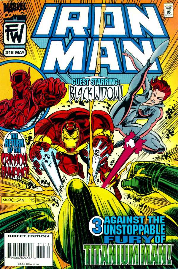 Iron Man #316