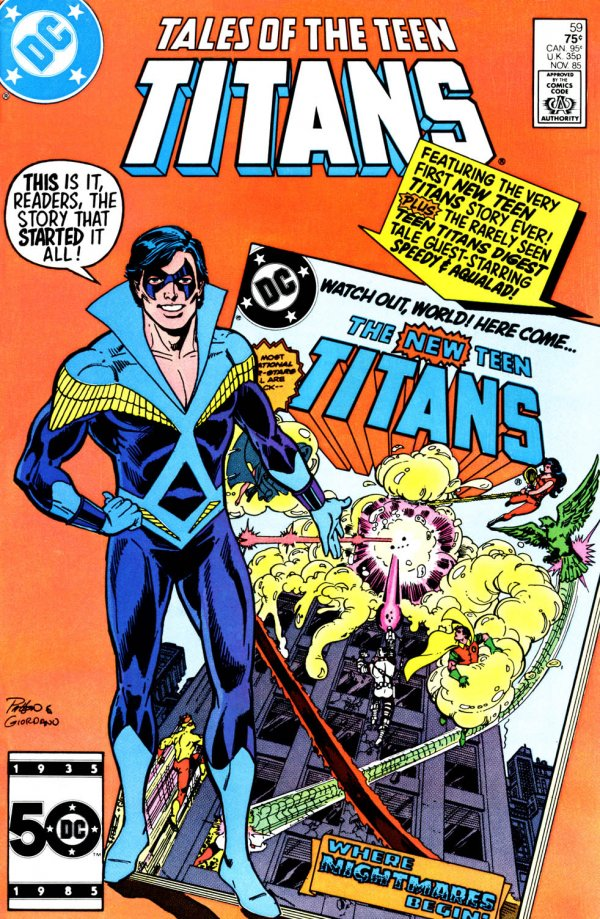 Tales of the Teen Titans #59