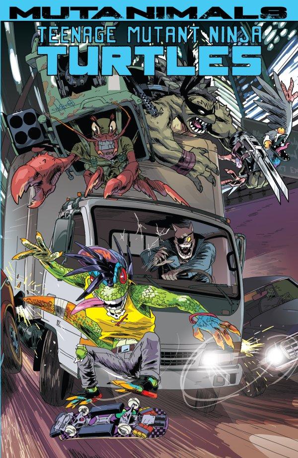 Teenage Mutant Ninja Turtles: Mutanimals TP