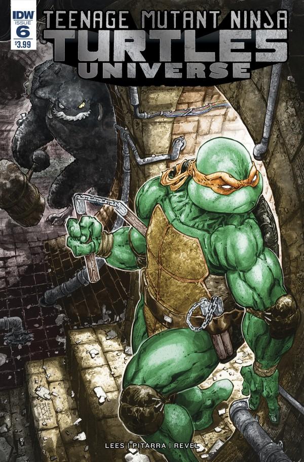 Teenage Mutant Ninja Turtles: Universe #6