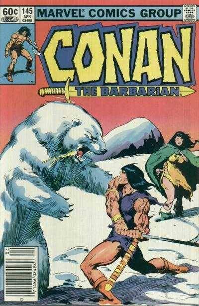 Conan the Barbarian #145