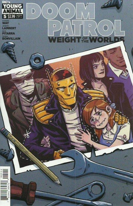 Doom Patrol: Weight of the Worlds #5