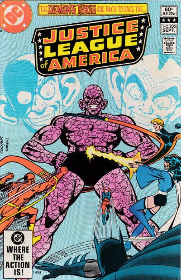 Justice League of America #206