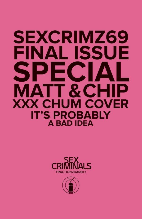 Sex Criminals #69