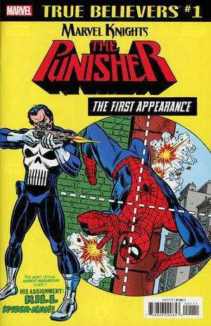 True Believers: Marvel Knights 20th Anniversary - Punisher: The First Appearance  #1