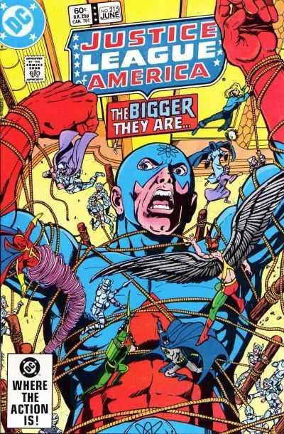 Justice League of America #215