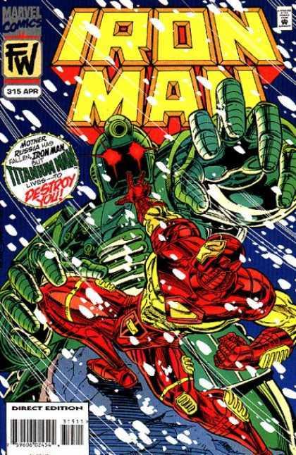 Iron Man #315