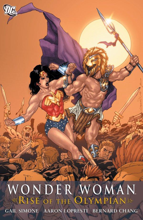 Wonder Woman: Rise of the Olympian HC