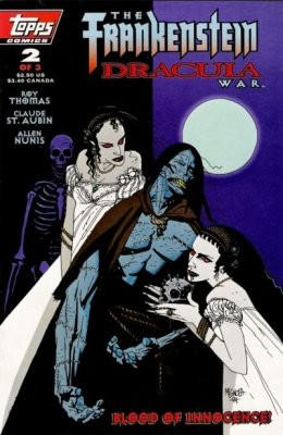 The Frankenstein / Dracula War #2