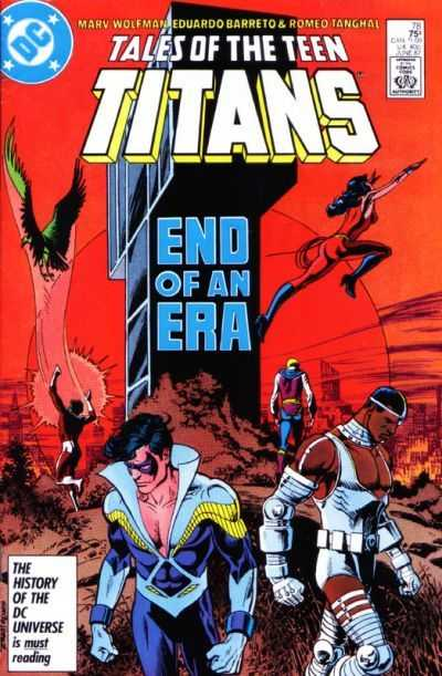 Tales of the Teen Titans #78