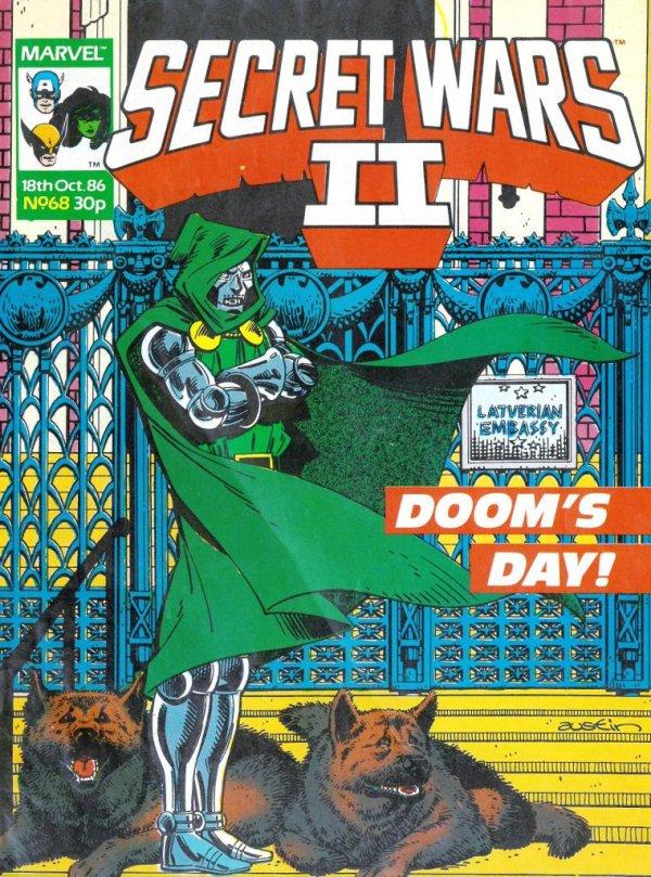 Marvel Super Heroes Secret Wars #68