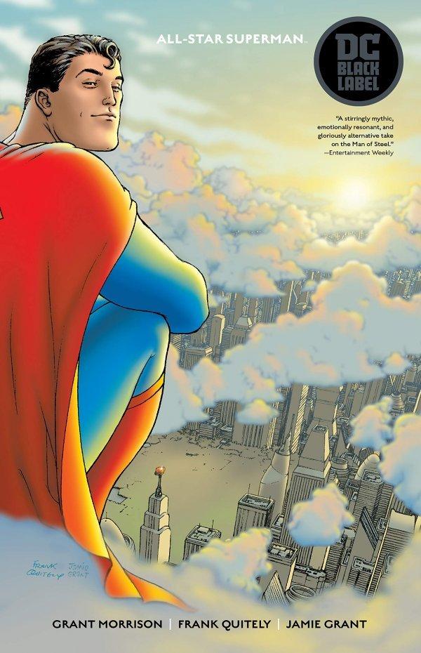 All-Star Superman TP Black Label Edition