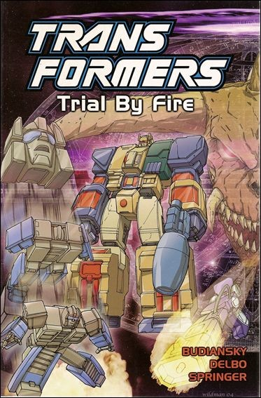 Transformers: Trial By Fire TP