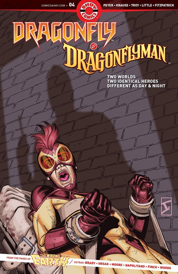 Dragonfly & Dragonflyman #4 review