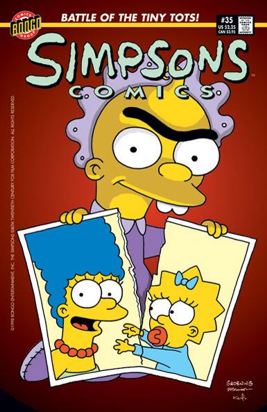 Simpsons Comics #35