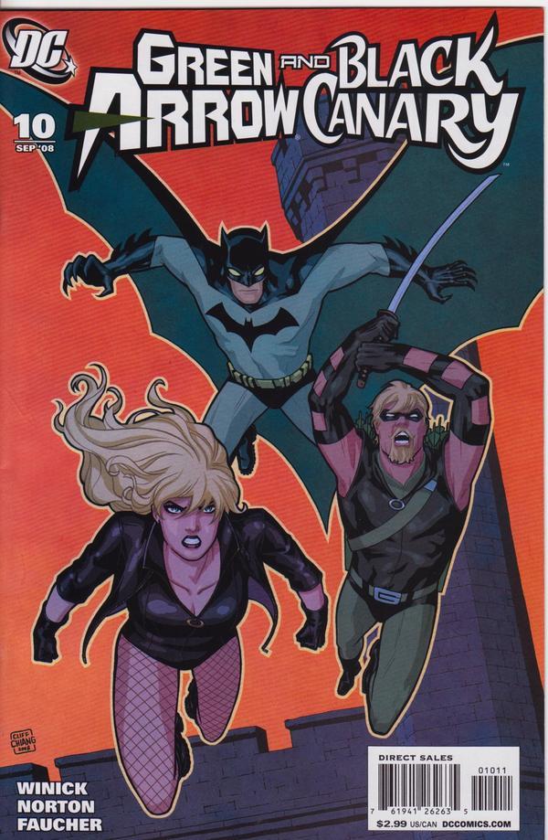 Green Arrow / Black Canary #10
