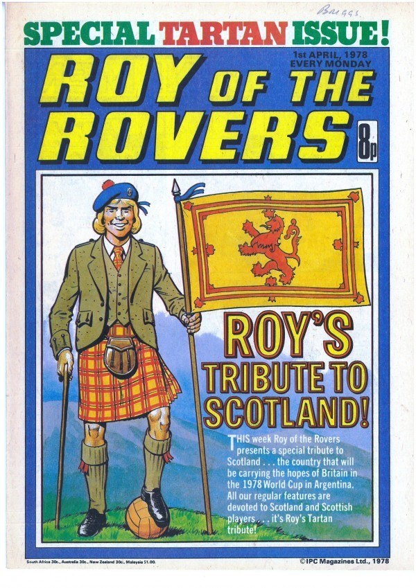 Roy of the Rovers #April 1st, 1978