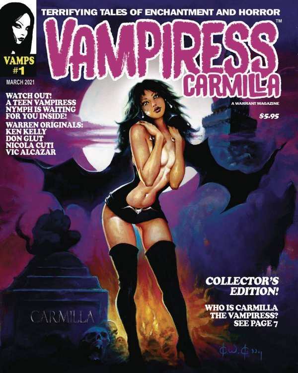 Vampiress Carmilla #1
